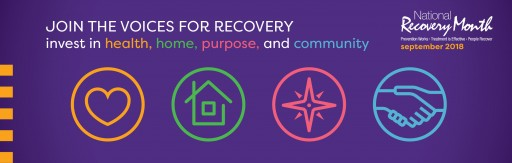 Recovery Month 2018 |Join the Voices for Recovery