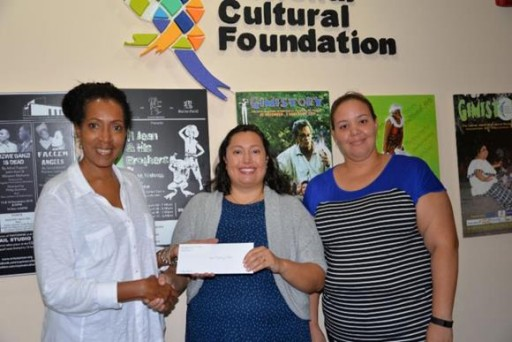 Cayman National Cultural Foundation Donates to CHRC