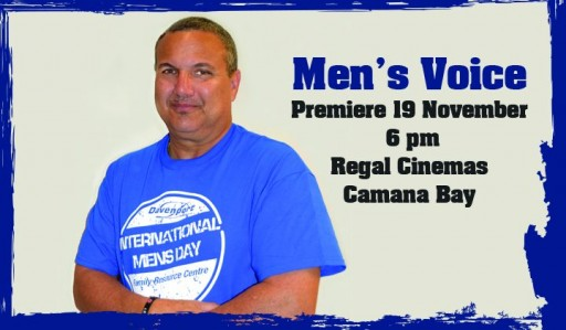 Deputy Govenor's blog on International Men's Day Documentary Men's Voice
